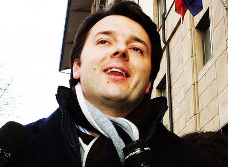 Matteo Renzi, sindaco di Firenze e aspirante Presidente del consiglio