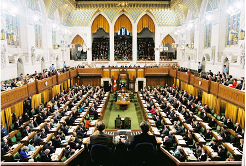 La sede del parlamento inglese