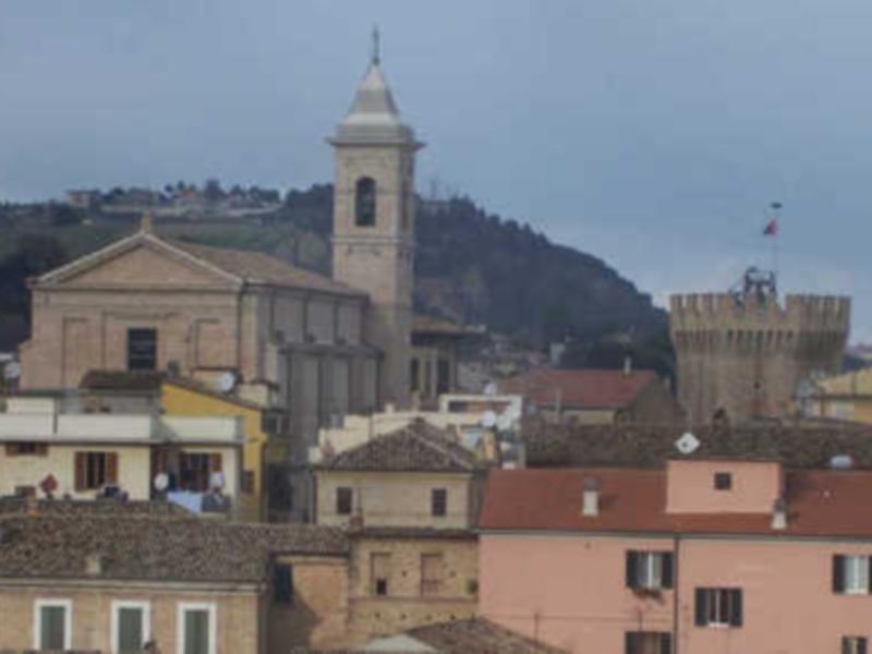 Uno scorcio del Paese Alto di San Benedetto Del Tronto