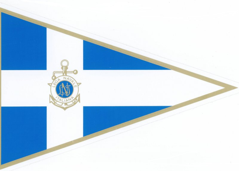 Il guidone della Lega Navale Italiana