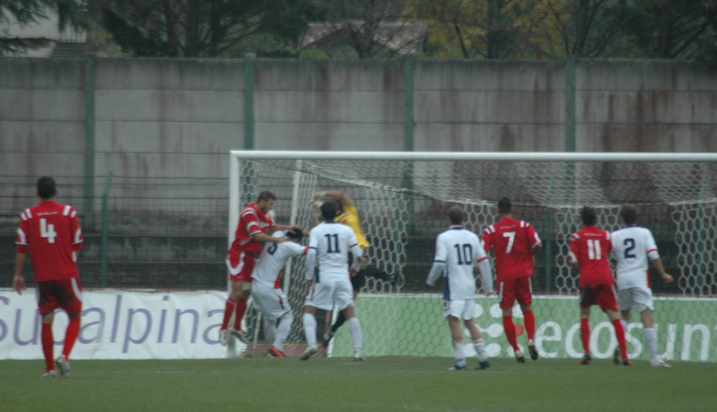 Samb-Ancona, Il gol di Ruffini (GIAMMUSSO)