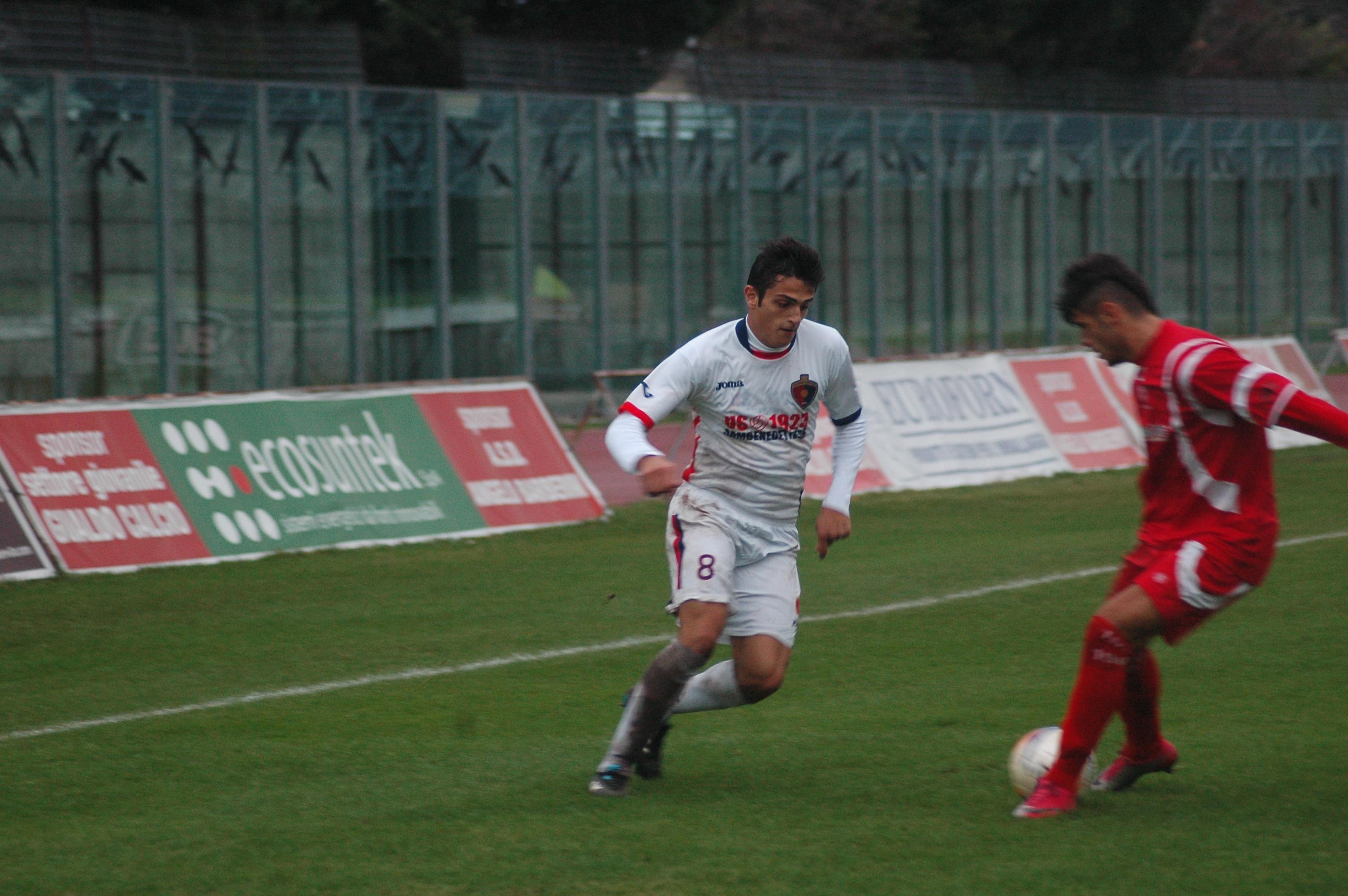 Samb-Ancona, Carpani in azione (GIAMMUSSO)