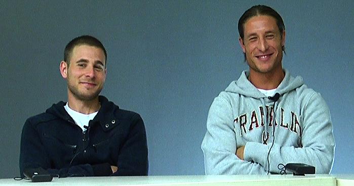 Emiliano Forgione e Alex Marini durante YouSamb