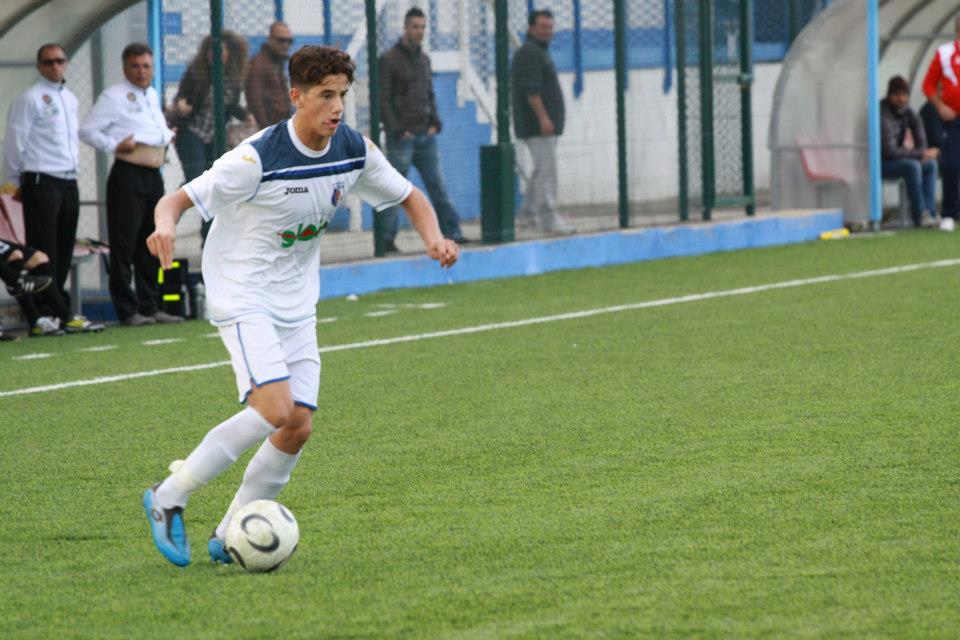 Fabio Fini, oggi in gol contro la Valle del Gran Sasso
