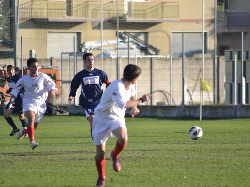 Dario Ludovisi in azione. Per lui tripletta e sigillo di migliore in campo