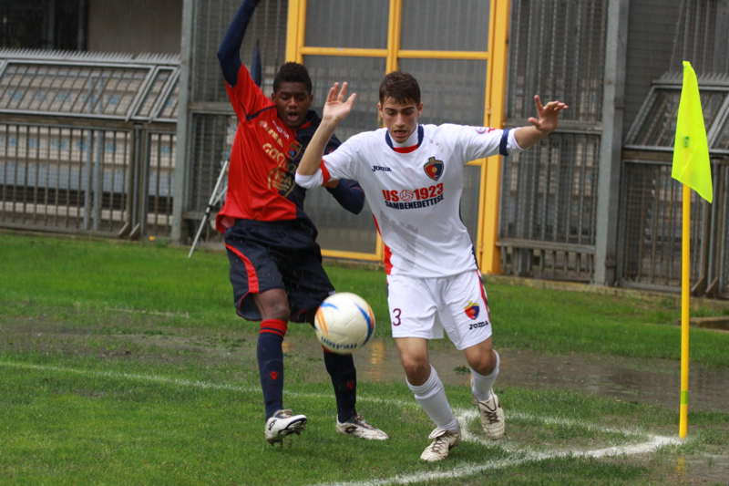 Samb-Civitanovese (4-0), Carminucci (Foto Bianchini)