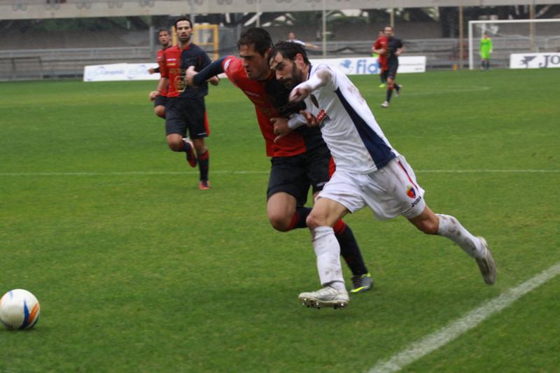 Samb-Civitanovese (4-0), Pazzi (Foto Bianchini)