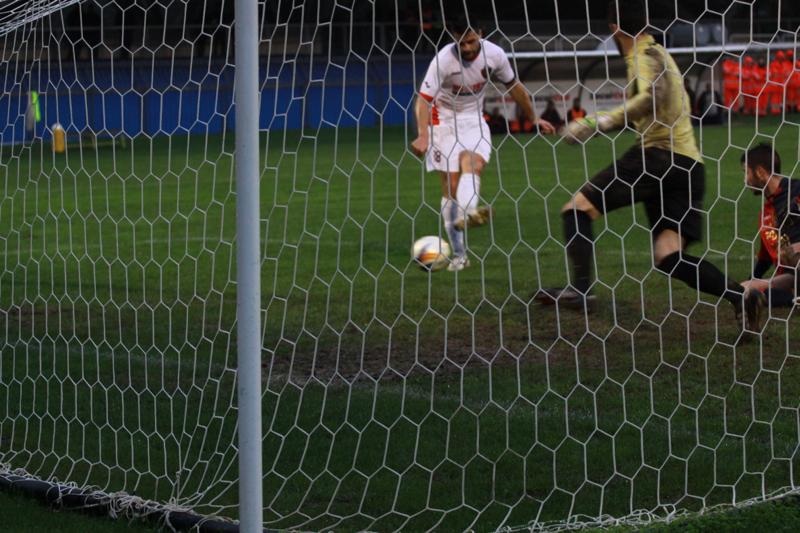 Samb-Civitanovese (4-0), il gol di Shiba (Foto Bianchini)