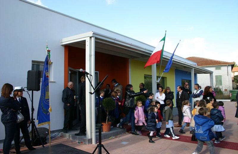 Civitella, inaugurata la scuola antisismica