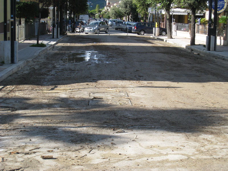 Martinsicuro via Aldo Moro, primo novembre 2012