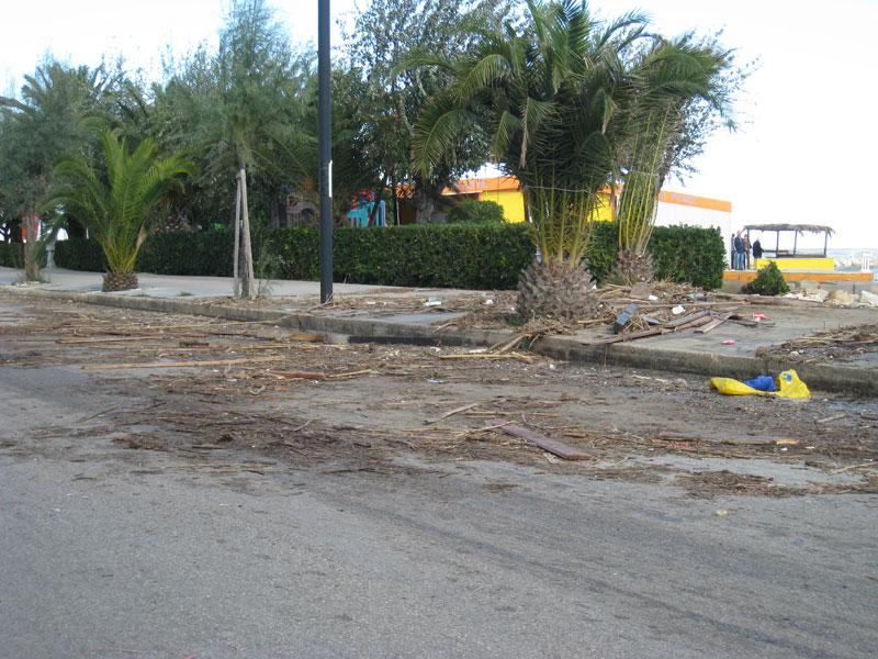Lungomare Villa Rosa sud, primo novembre 2012
