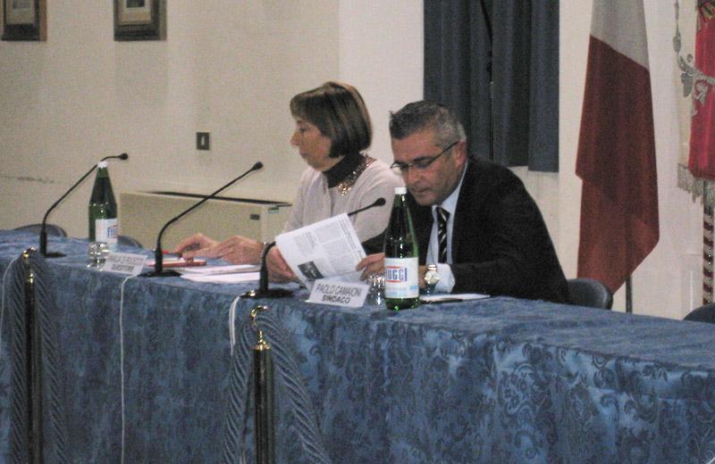 Il questore Di Ruocco e il sindaco Camaioni