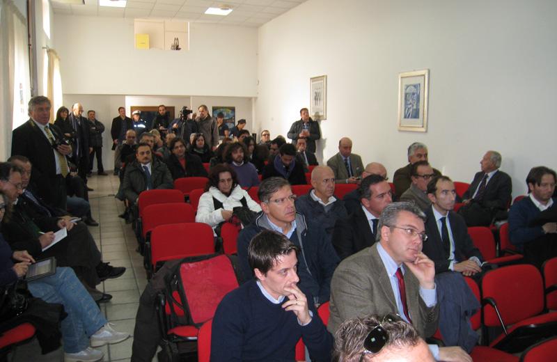 Il pubblico in sala Flaiano