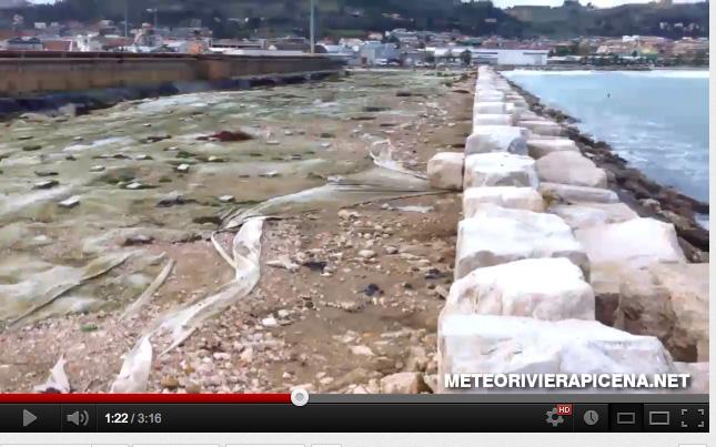 La cassa di colmata di San Benedetto il 29 novembre 2012