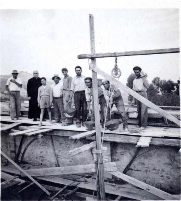 La costruzione della Chiesa di San Savino