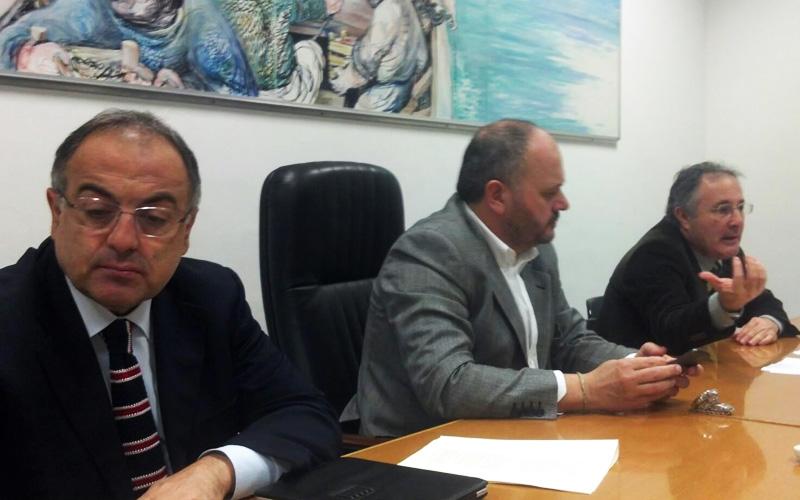 Luciano Agostini, Giovanni Gaspari e Amedeo Ciccanti