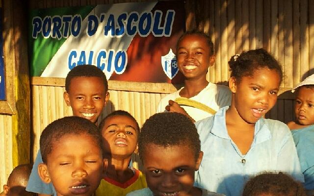Madagascar e Porto d'Ascoli calcio