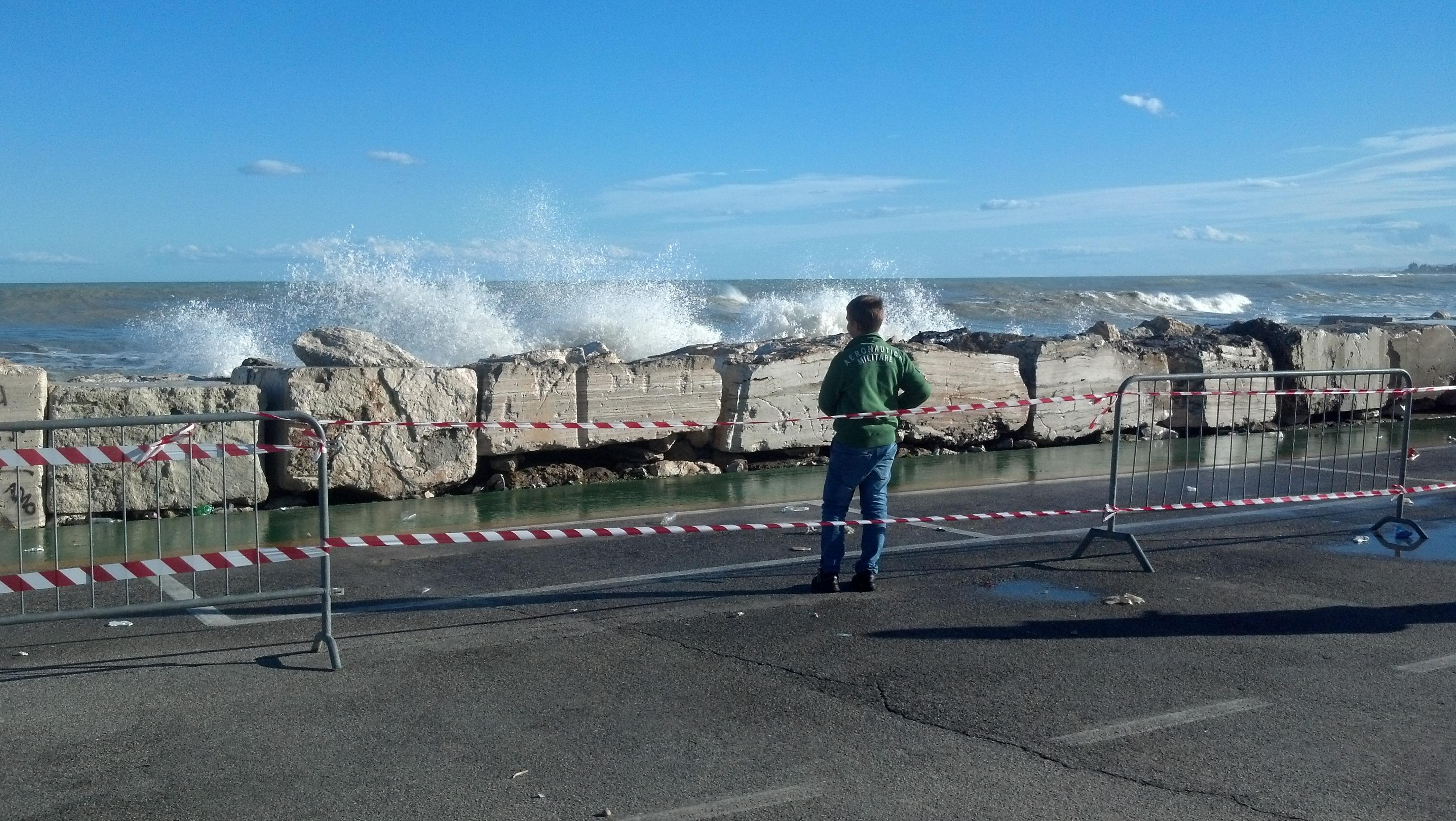 Mareggiata a San Benedetto 1° novembre 2012