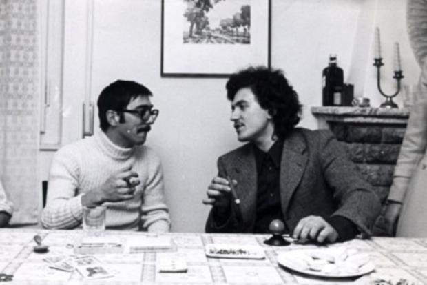 Mussi e D'Alema, capodanno 1968, fonte linkiesta