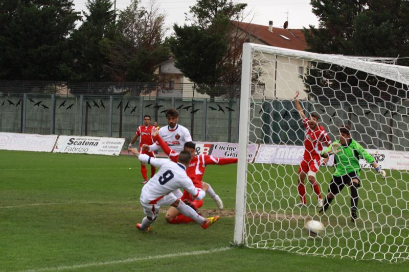 Samb-Ancona 2-2,Shiba (foto Bianchini) (19)