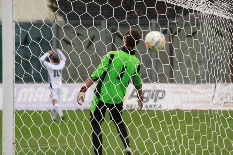 Samb-Ancona 2-2, primo gol Napolano (foto Bianchini) (24)