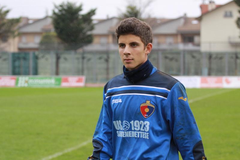 Samb-Ancona 2-2, Barbetta (foto Bianchini) (4)