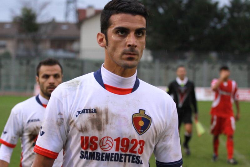 Samb-Ancona 2-2, Aquino (foto Bianchini) (64)