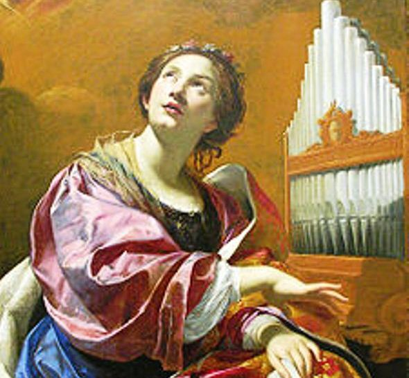 Santa Cecilia google immagini