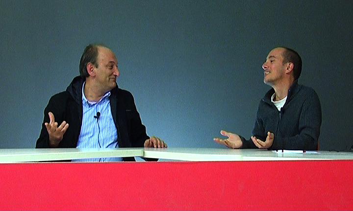 Tonino Silvestri e Andrea Mattioli durante YouRiviera