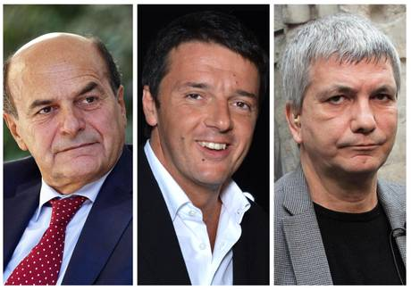 Bersani, Renzi, Vendola, l'unione ha fatto crac