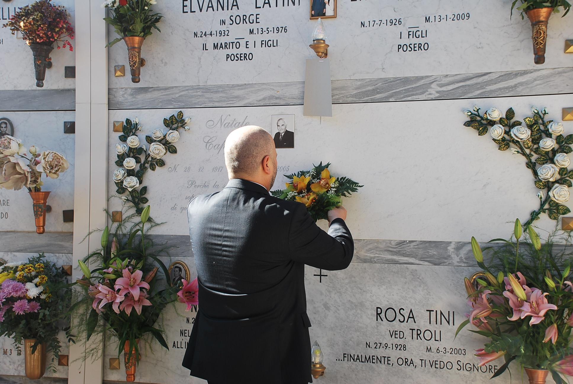 Ognissanti, commemorazioni al cimitero