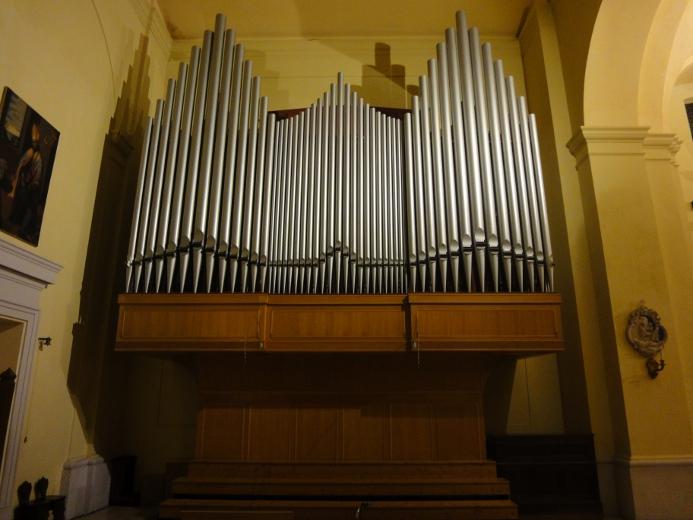 L'organo monumentale Balbiani-Vegezzi-Bossi nella cattedrale di Santa Maria della Marina