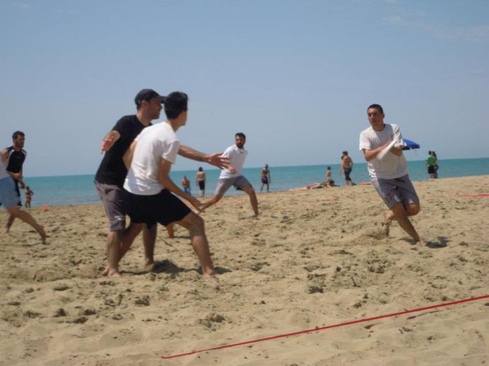 L'Ultimate Frisbee S.B.T. in azione presso il Roma Fusion 3.0