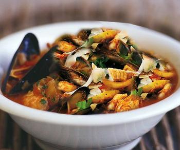 Una zuppa di pesce