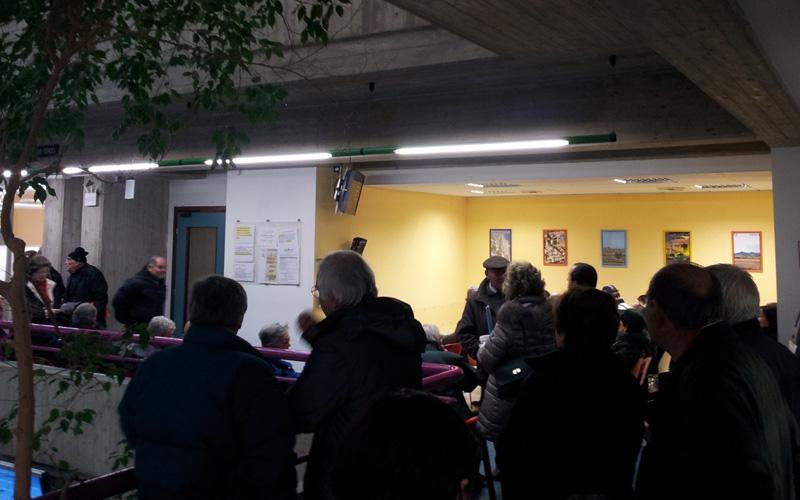 4 dicembre 2012, fila al Comune di San Benedetto del Tronto per il pagamento dell'Imu