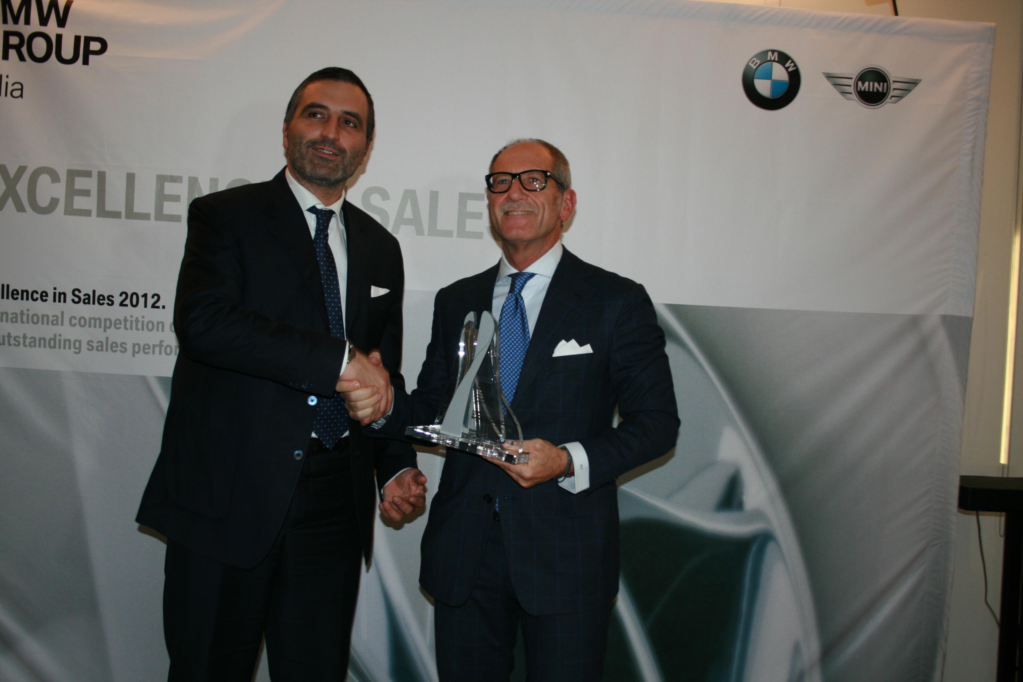 Cascioli Bmw, Excellence in Sales 2