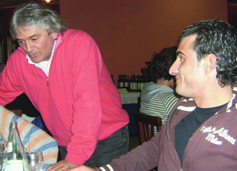 Tiziano Manfrin nel 2006 quando dirigeva il settore giovanile del Grottammare