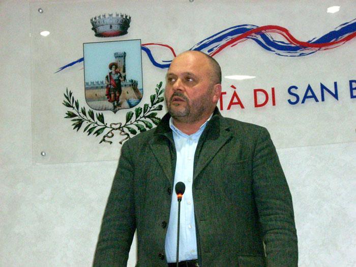 Giovanni Gaspari, sindaco di San Benedetto del Tronto