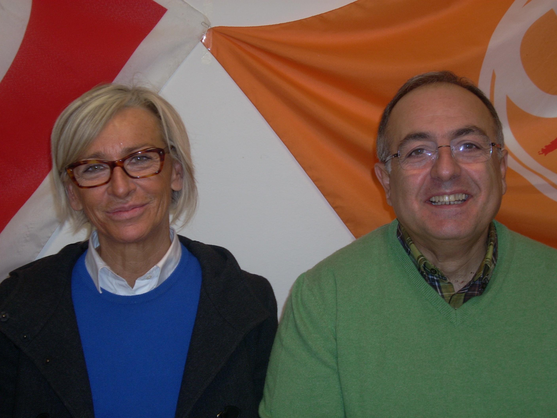 Margherita Sorge e Luciano Agostini