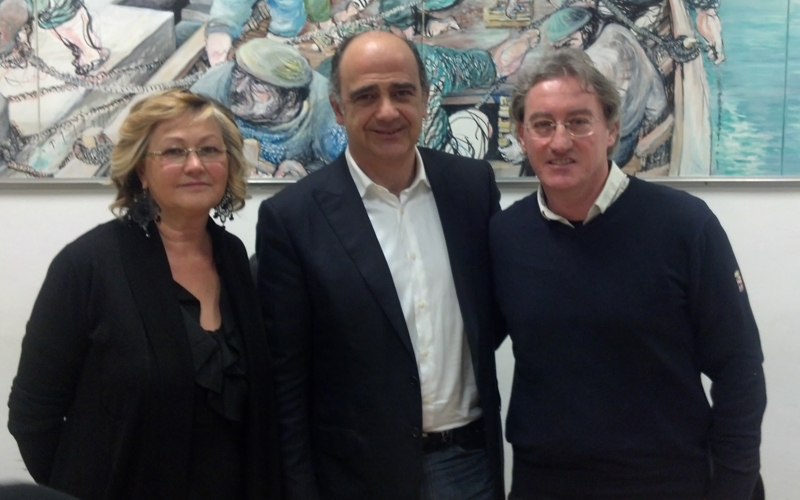 Giulietta Capriotti, Claudio Benigni, Vinicio Liberati