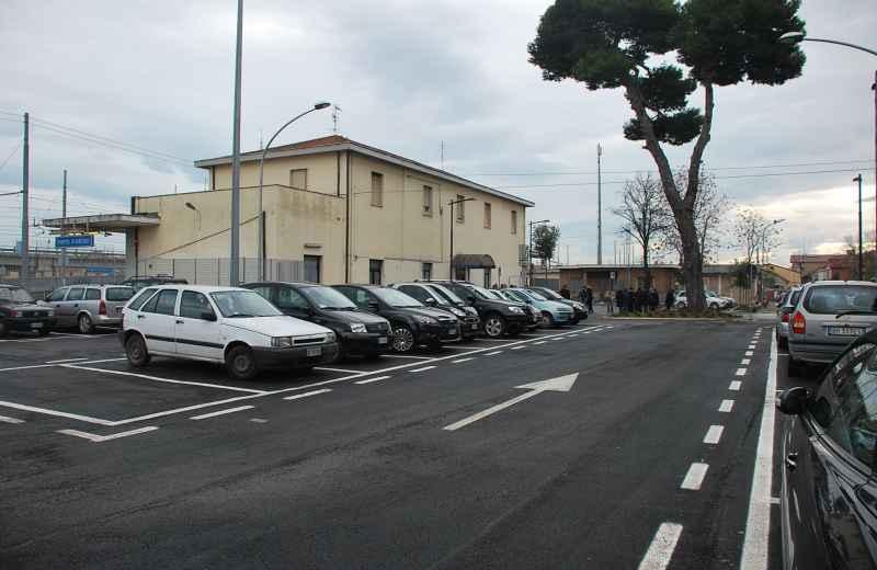 Inaugurazione parcheggio di Porto d'Ascoli