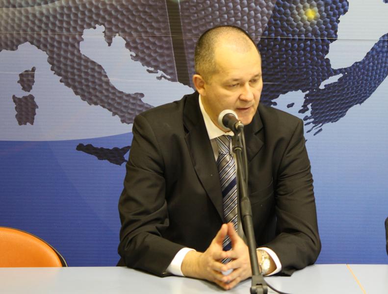 L'allenatore della Scavolini Banca Marche Pesaro, Zare Markovski