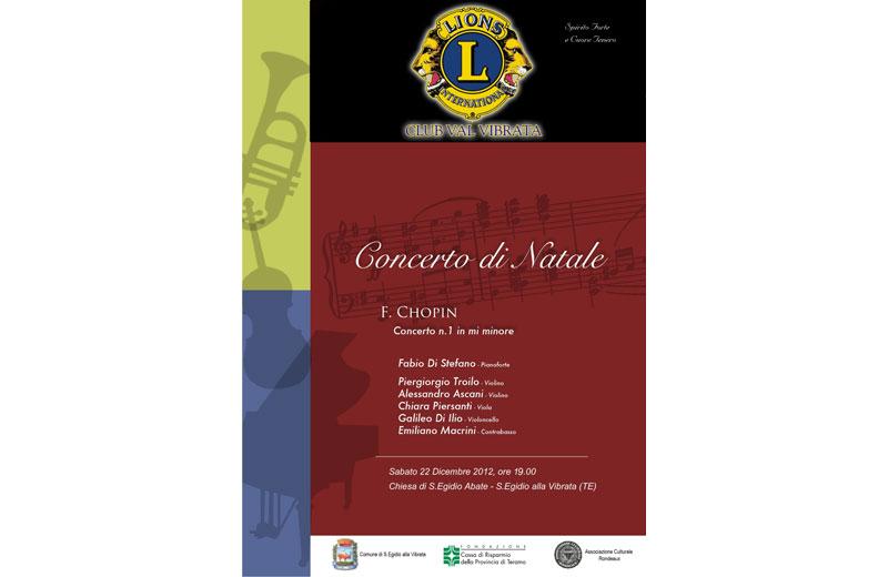 Concerto di Natale del Lions Club Val Vibrata