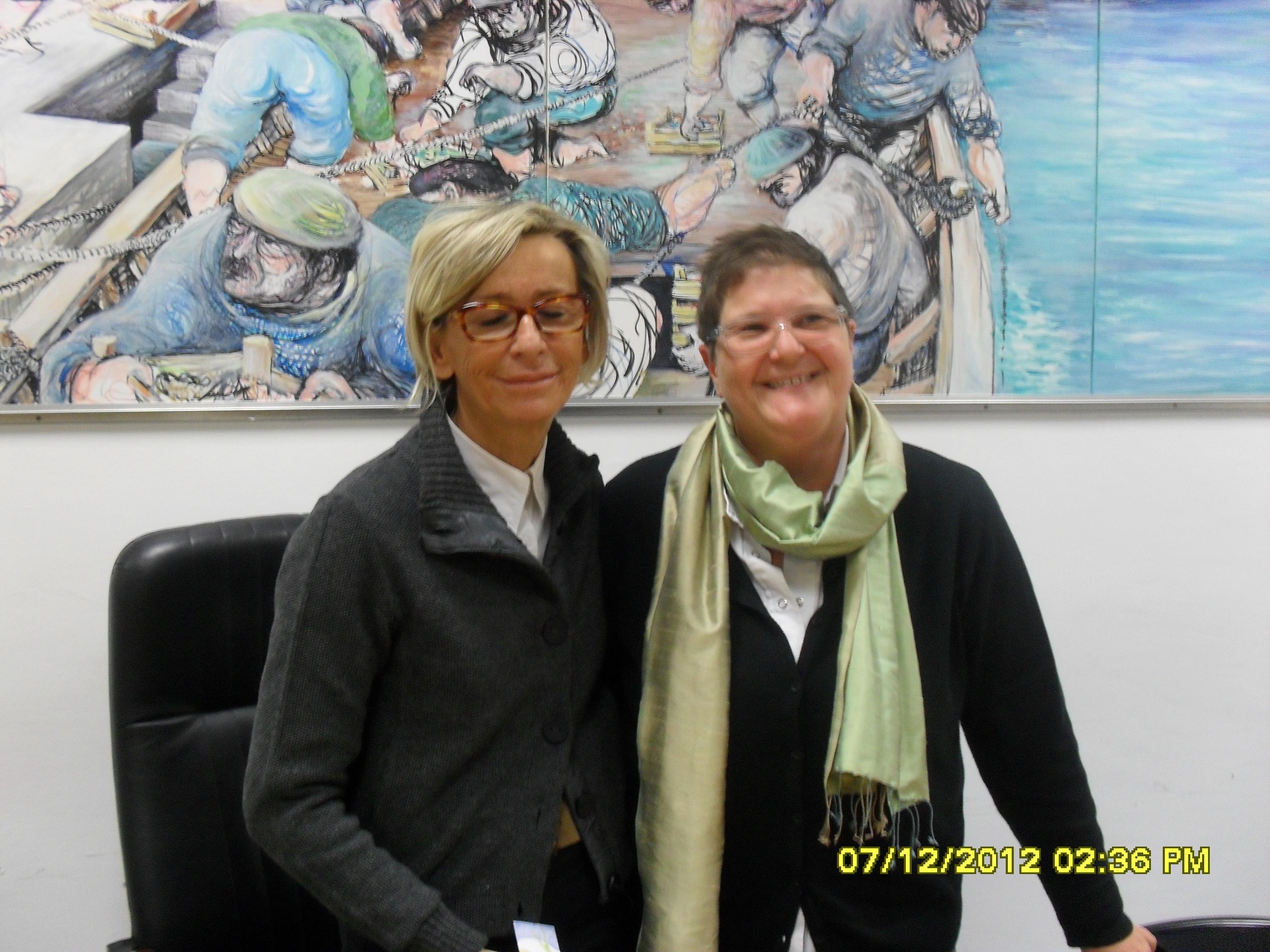 Margherita Sorge e Ornella Pieroni