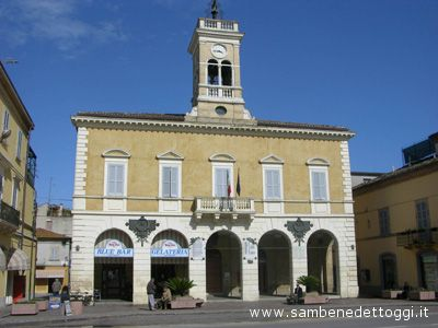 Municipio Cupra foto di repertorio