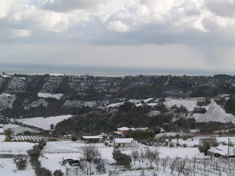Neve a Ripatransone, foto Annalisa Agostini, 9 dicembre 2012 3