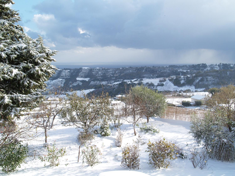 Neve a Ripatransone, foto Annalisa Agostini, 9 dicembre 2012 4