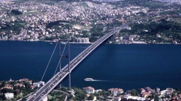 Terzo Ponte sul Bosforo, ad Istanbul, ad opera di Astaldi, ditta italiana