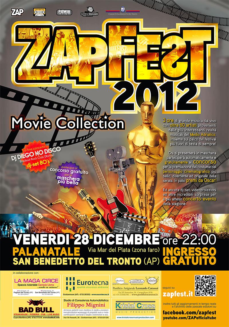 La locandina dell'edizione 2012 di Zapfest