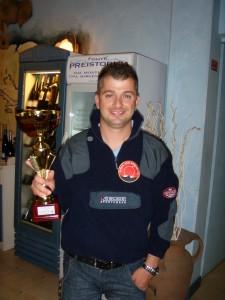 Zefferino Guidi, campione provinciale Canna da Riva e Canna da Natante 2012